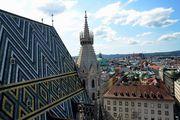 На крыше собора / Австрия