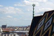 Петушок на  коньке крыши / Австрия