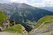 Фирменный швейцарский пейзаж / Швейцария