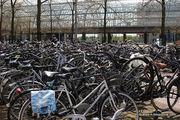 Как они находят свои велосипеды? / Нидерланды