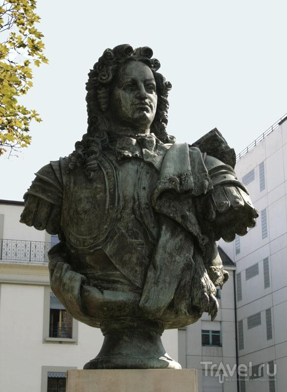 Памятник Францу Лефорту в Женеве / Фото из Швейцарии