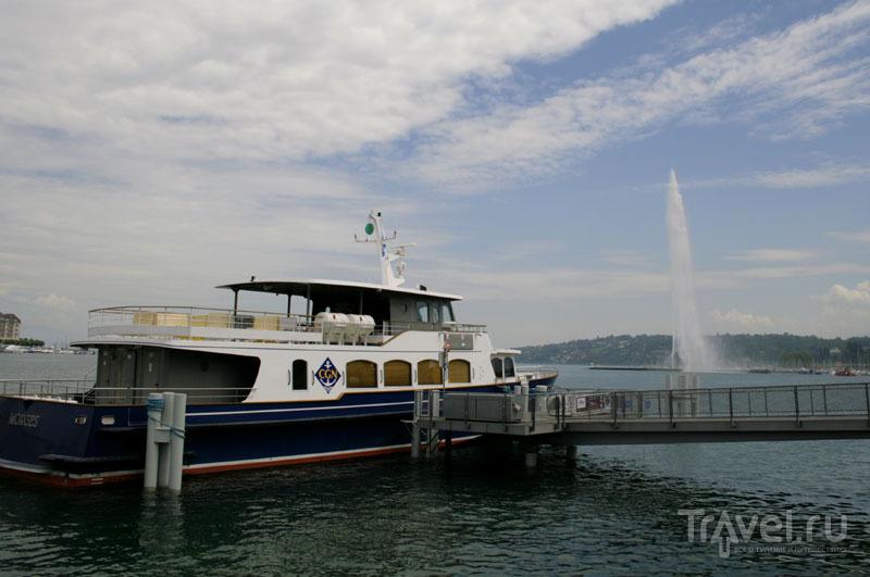 Паром на Женевском озере / Фото из Швейцарии