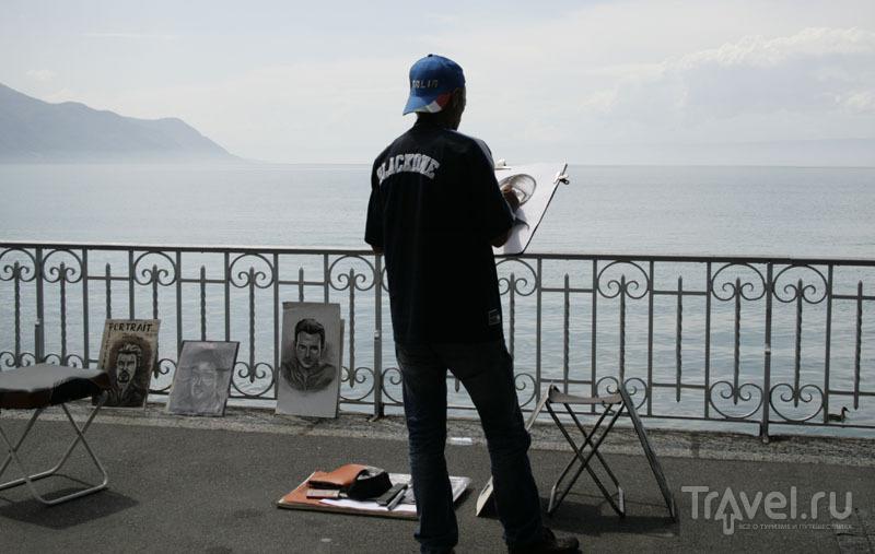 Художник из Монтрё / Фото из Швейцарии