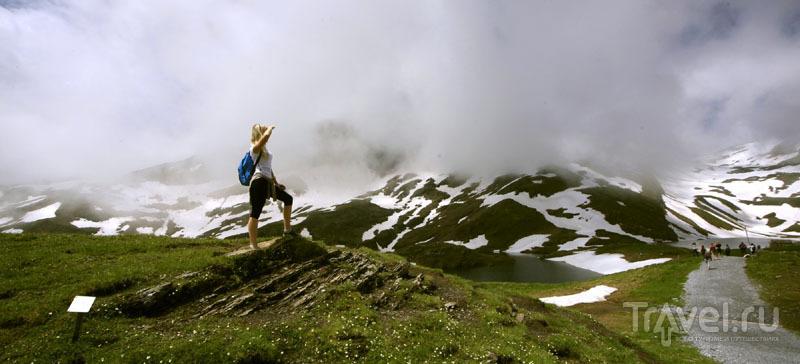 В горах Швейцарии / Фото из Швейцарии