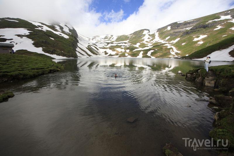 Озеро Бахальп в Швейцарии / Фото из Швейцарии