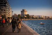Салоники, белая башня / Греция