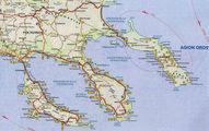 Форма полуострова / Греция