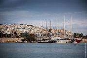 Вид на Пирей / Греция