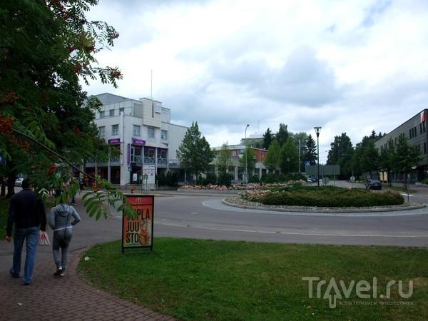 Центральная площадь Иматры / Финляндия