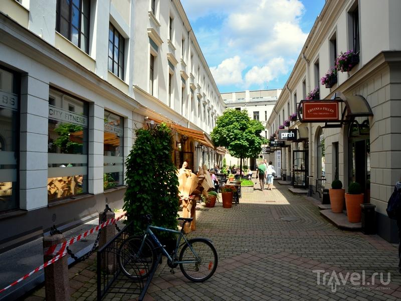 Улица в Риге / Фото из Латвии