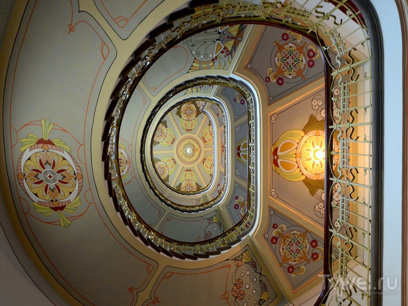 Лестница дома в Риге / Фото из Латвии