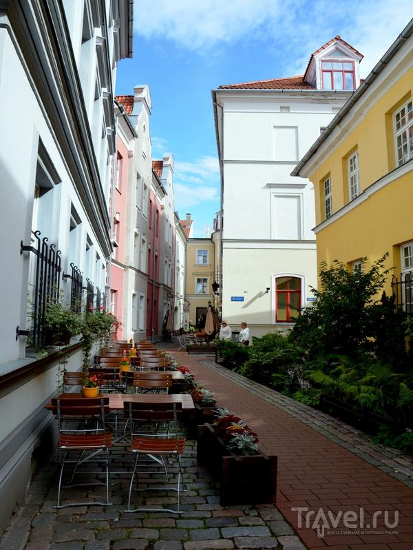 Уличное кафе в Риге / Фото из Латвии