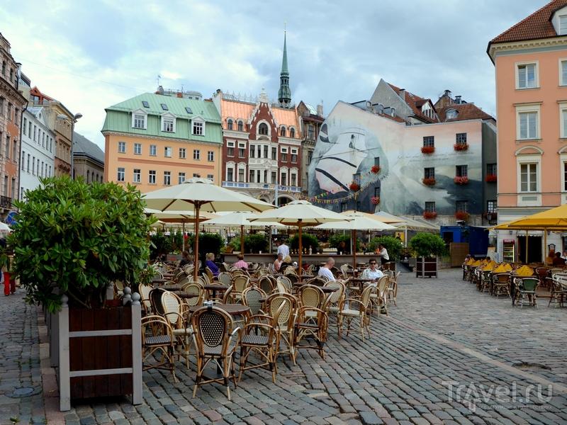 На улице Риги / Фото из Латвии