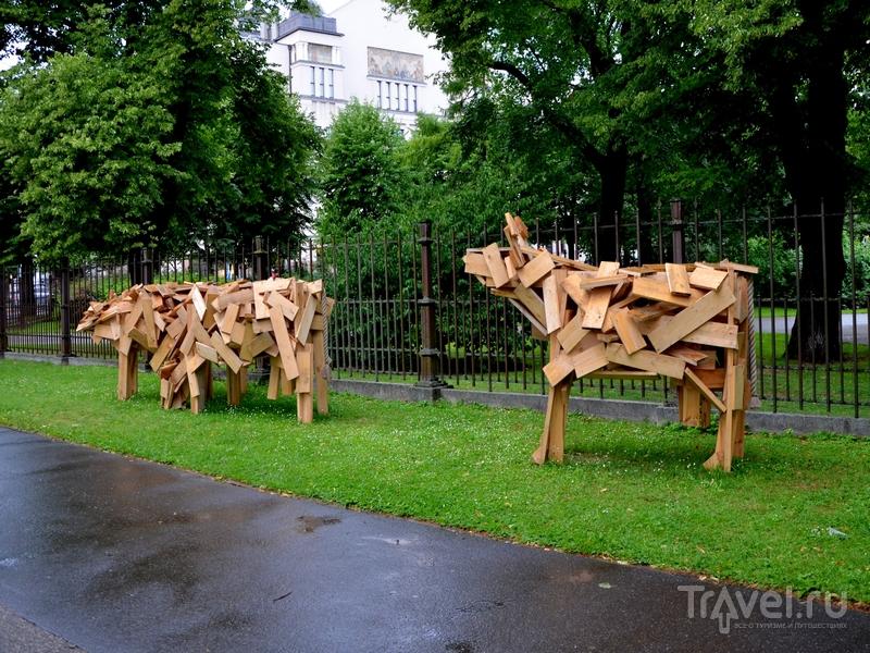 Артобъекты в Риге / Фото из Латвии