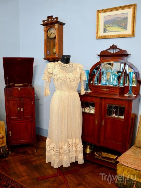Платье из Музея ар-нуво, Рига / Фото из Латвии