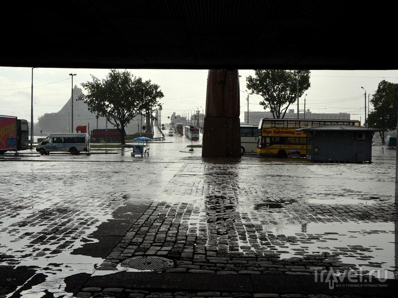 Дождь в Риге / Фото из Латвии