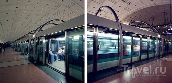 Поезд на станции / Франция