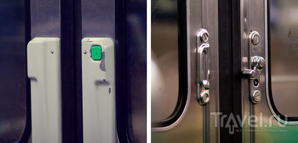 Кнопки открывания дверей / Франция