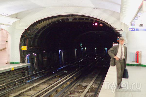 Въезд в тоннель / Франция