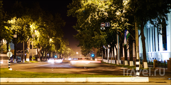 Городская улица / Узбекистан