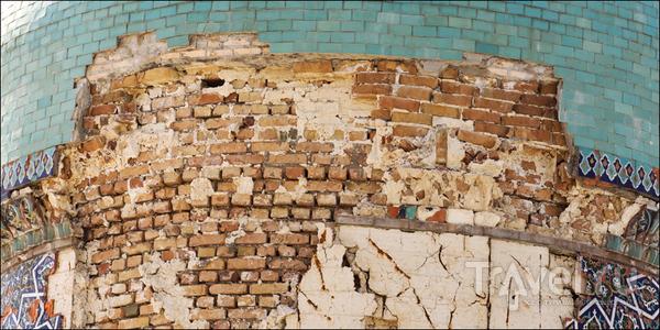 Старая мозаика / Узбекистан