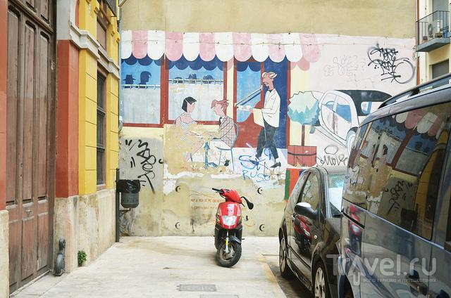 Рисунки не портят стен / Испания