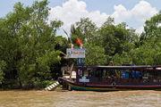 Причал для туристических лодок / Вьетнам