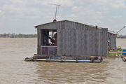 Обитатель дома на воде / Вьетнам
