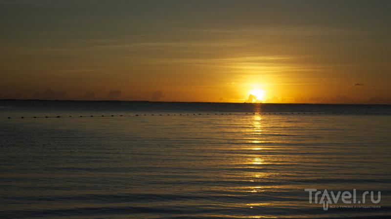 Восход над Индийским океаном, Маврикий / Фото с Маврикия