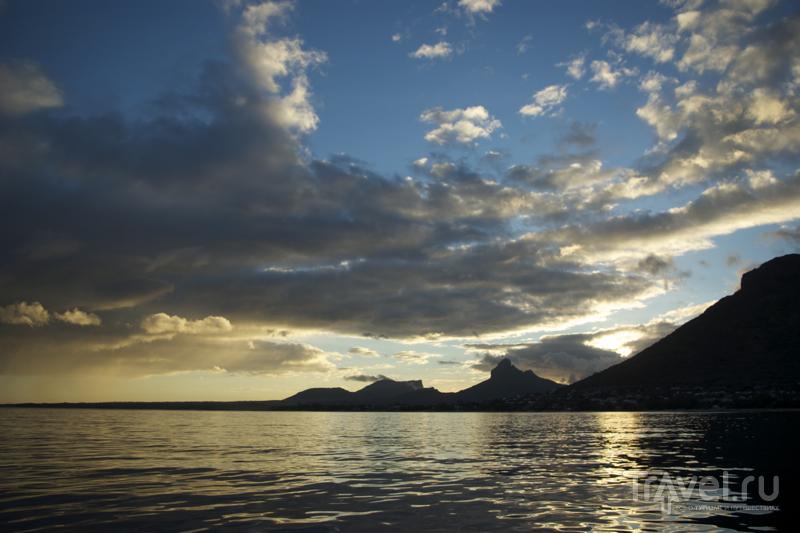 Ранним утром – на встречу с дельфинами, Маврикий / Фото с Маврикия