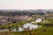 Вид с крыши библиотеки / Белоруссия
