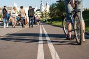 Вид с велодорожки / Белоруссия