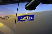 Наклейка Motor club / Греция