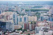 Квартал высотных зданий / Россия