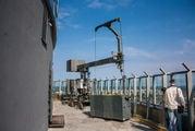 Кран с балконом / Россия
