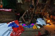 Изготовление сложных аппликаций / Бангладеш