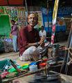 Работает художник / Бангладеш