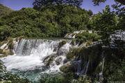 Водопады в парке / Хорватия
