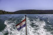 Погулка на катере / Хорватия
