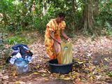 Процесс стирки / Вануату