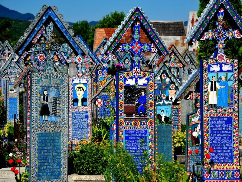 Кладбище Чимитирул-Весел в Румынии / Румыния