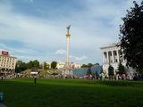 Монумент на площади / Украина