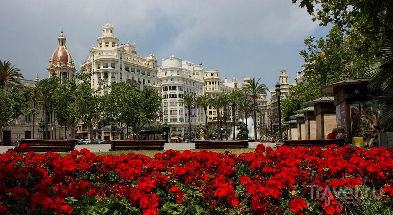 Площадь в Испании / Фото из Испании