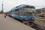 Поезд Таллин-Москва / Эстония