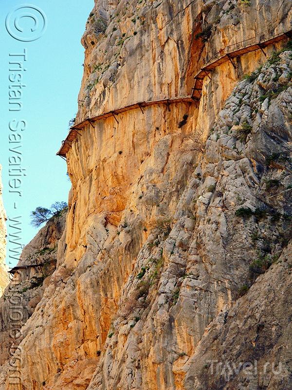 Сaminito del Rey - одна из самых опасных горных троп в мире / Испания