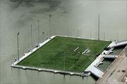 Футбольное поле на воде / Сингапур