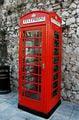 Красная телефонная будка / Гибралтар (Брит.)