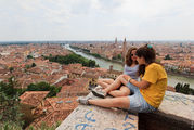 Вид с крыши / Италия