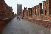 Посещение замка Кастельвеккио / Италия