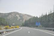 Пример платной автомагистрали / Испания